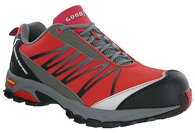 Goodyear Safety Trainers Composite Toe S1P Lightweight Metal Free Lace Mens 1500