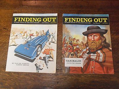 FINDING OUT MAGAZINES VOL 8 No 11 & 12