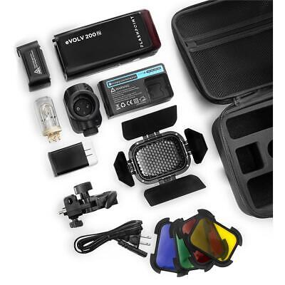 Flashpoint eVOLV 200 R2 TTL Pocket Flash Kit #EV-200