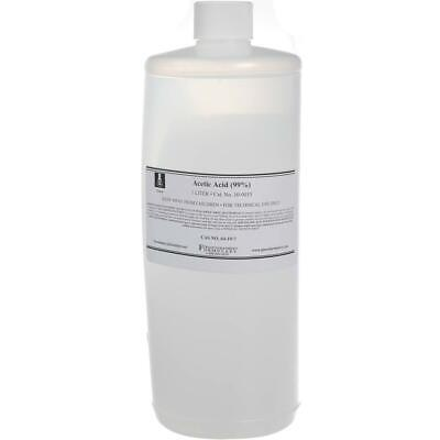 Photographers' Formulary 1L Glacial Acetic Acid, Hazmat #10-0015 1 LITER