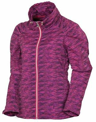 Sunice Ladies Brooklin X20 Full Zip Wind Water Repellent Golf Jacket-S52500