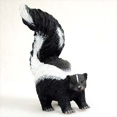 SKUNK pet HAND PAINTED FIGURINE Resin Statue COLLECTIBLE ANIMAL New