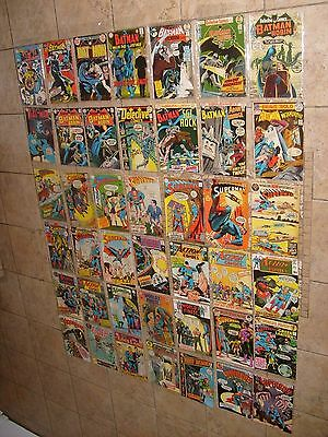 42 Batman Superman Neal Adams Detective Action Lot 416 236 237  213 403 399