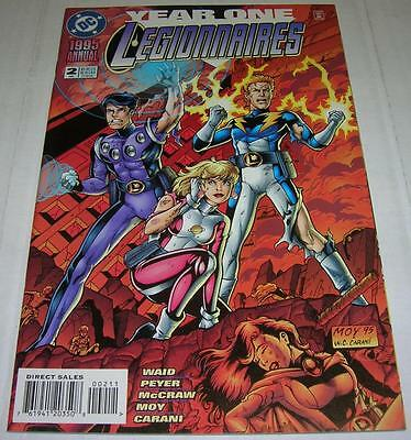 LEGIONNAIRES ANNUAL #2 (DC Comics 1995) YEAR ONE story (VF)