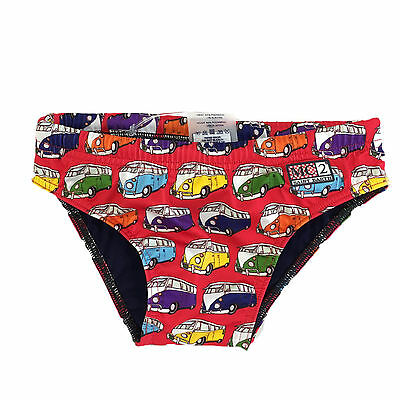 MC2 SAINT BARTH slip Bambino BILLY Red Costume Primavera/Estate