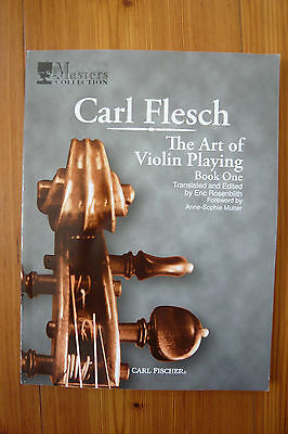Carl Flesch. The Art of Violin Playing 1   - Mängelexemplar