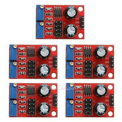 5Pcs NE555 Duty Cycle Adjust Module Square Wave Signal Frequency Pulse Generator