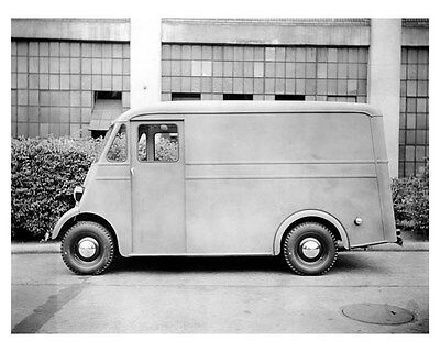 1941 Hudson All Purpose Delivery ORIGINAL Linen-Backed Factory Photo oub3135