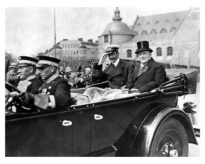 1927 Packard ORIGINAL Factory Photo King Alfonso of Spain oub3144