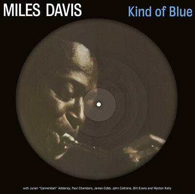 MILES DAVIS Kind Of Blue LP Vinyl NEW Picture Disc