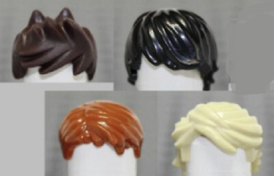 Lego Ninjago Minifigure Set Of 5 Hair Pieces Lloyd Kai Zane Jay Cole Head Gear
