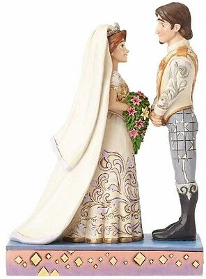 Jim Shore Disney The Big Day Rapunzel and Flynn Wedding Figurine 4056751 New