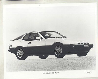1980 Porsche 924 Turbo ORIGINAL Factory Photo & Press Release ww7774