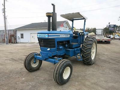 Ford 9700 Tractor, 135Hp Turbocharged Diesel, 540 Pto, 2 Rear Remotes, 3Pt Hitch