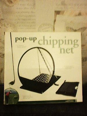 Pop Up Chipping Net Golf New Boxed 12 Inch W 22 Inch L 19 Inch H Assembled