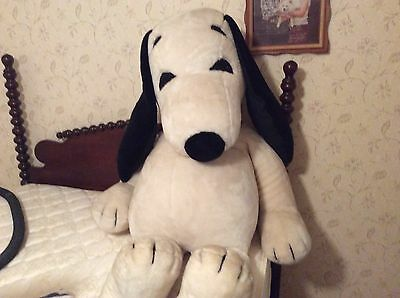 Rare Giant 5 foot 1968 Plush Snoopy made in Japan