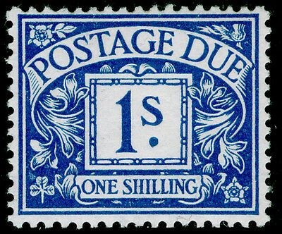SgD8a, 1s deep bright blue, UNMOUNTED MINT. Cat £150.