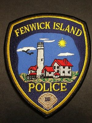 Fenwick Island Delaware Police Shoulder Patch