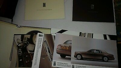 Rolls Royce Phantom Deluxe Sales Brochure with CD And Photos