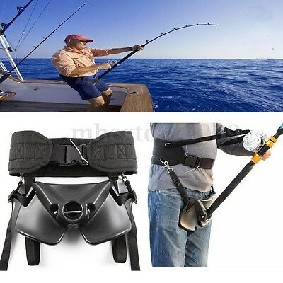 Sea Fishing Fighting Waist Belt Rod Pole Holder Big Tackles Fishing Harness