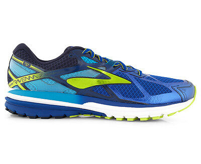 Brooks Men's Ravenna 7 Shoe - Surf The Web/Lime Punch/Peacoat
