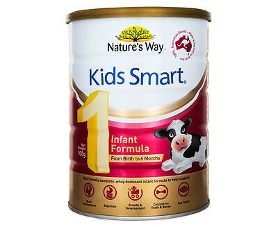 Nature's Way Kids Smart Infant Stage 1 (Birth-6 Months) Formula 900g