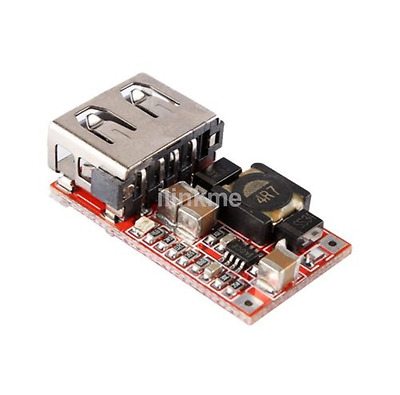 DC-DC Buck Module 6-24V 12V/24V to 5V 3A USB Step Down Power Supply Charger US