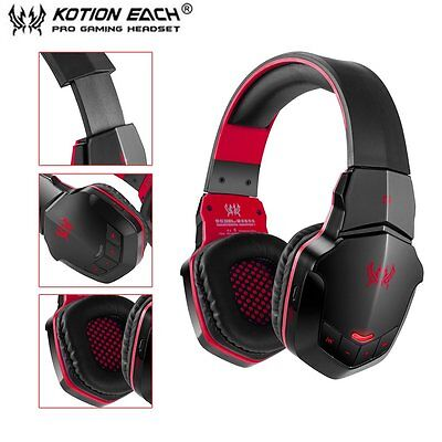 EACH B3505 Wireless Bluetooth 4.1 Stereo Gaming Headphone Headset Support NFC C~