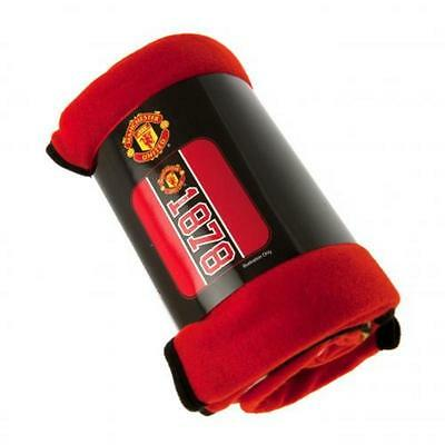 EXTRA LARGE Manchester United Football Club Fleece Blanket Kids Boys Bed Throw