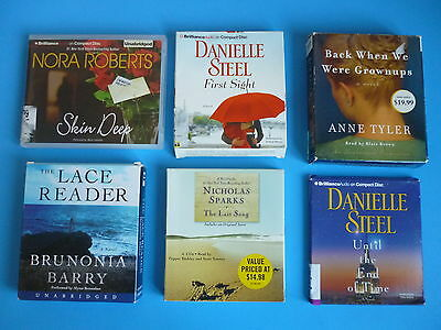 Audiobooks Lot Of 6 On Cd