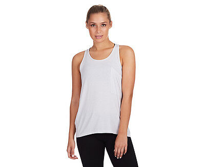 Lorna Jane Women's Unwind Casual Tank - Galaxy/White Stripe