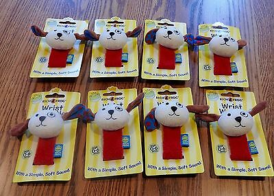 Nwt Rich Frog Lot Og 8 Wrist Wrattle Rattle For Baby - Dogs