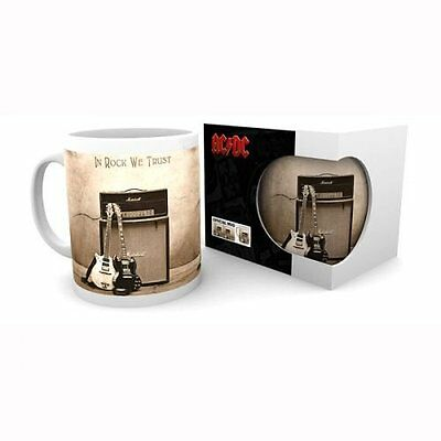 AC/DC In Rock We Trust MUG Boxed NEW & Official