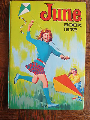 Vintage JUNE Comic ANNUAL 1972 Gift Book for Girls