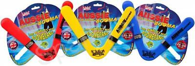 Wicked Aussie Booma polymer sports boomerang frisbee flight range of 25-30m