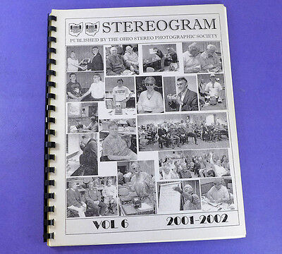STEREOGRAM Vol 6 (2001-2002) - Lots of stereo 3d photography information