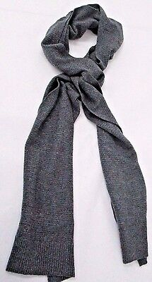 Cullen Mens Allover Textured Cashmere Knit Scarf
