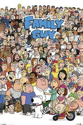 NEW * FAMILY GUY * CHARACTERS PYRAMID MAXI POSTER 62cm X 91cm  ...no59