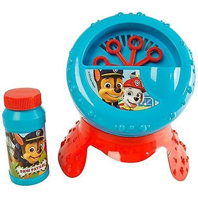Paw Patrol Bubble Blower Machine With Liquid