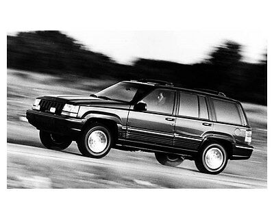 1993 Jeep Grand Cherokee Limited ORIGINAL Factory Photo oub3535
