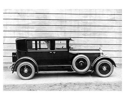 1923 Isotta Fraschini ORIGINAL Linen-Backed Factory Photo Body By Budd oub3641