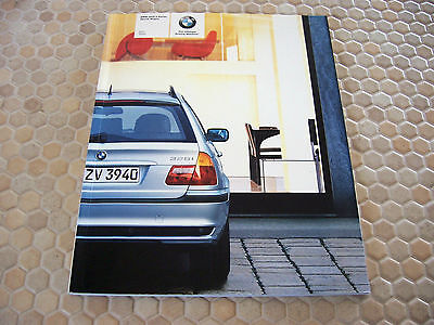 Bmw Official 3 Series Sports Wagon Prestige Sales Brochure 2004 Usa Edition
