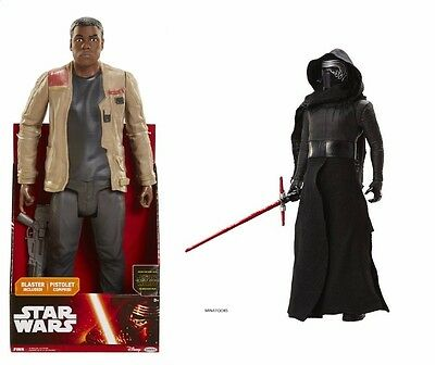 29M - Lot de 2 Figurine 45 cm...STAR WARS Episode 7, Le Reveil de la Force..NEUF