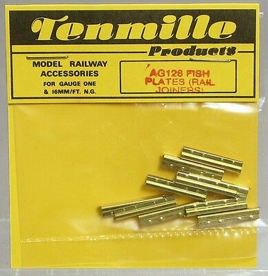 Tenmille Products AG128 Fish Plates(Rail Joiners) for 16mm