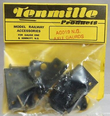 Tenmille Products AG019 Narrow Gauge Axle Guards/Mounting for 24mm Dia Wheels