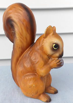 Vintage Japan Brown Squirrel Figurine 5-3/4""