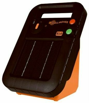 Gallagher G341414 S16 Solar Electric 30 Acre Fence Charger