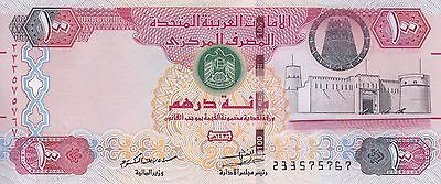 UAE UNITED ARAB EMIRATES 100 DIRHAMS 2014 P-30f UNC */*