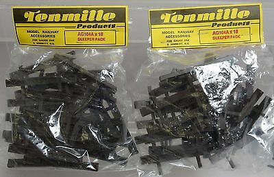 Tenmille Products AG104A Track Ties Sleeper Pack (2-Packs)