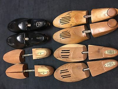 4 Pairs Mens Shoe Keepers / Trees - 3 Adjustable and 1 size 12